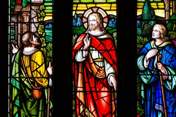 The Stained Glass Windows of Trinity United Church Summerside PEI.